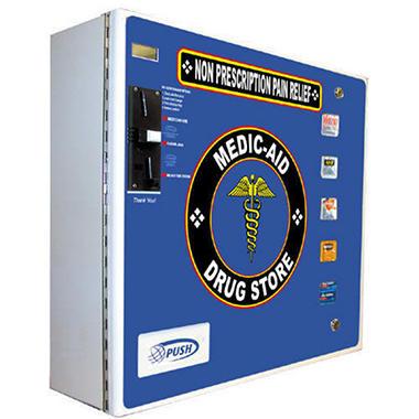 Seaga Electronic Medic-Aid Vending Machine