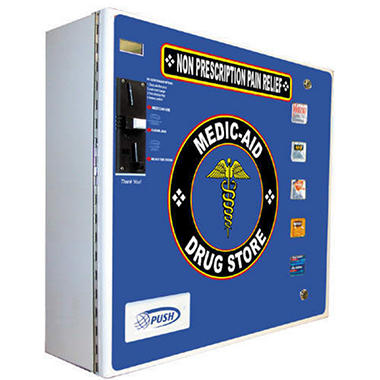 Seaga Electronic Medic-Aid Vending Machine