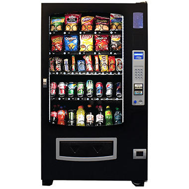 Seaga 16 Snack and 14 Beverage Full Size Combo Machine