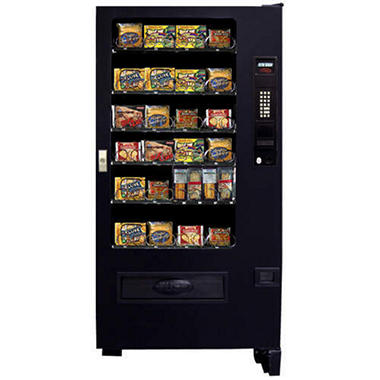 Seaga Refrigerated Food Vending Machine - 26 Selections