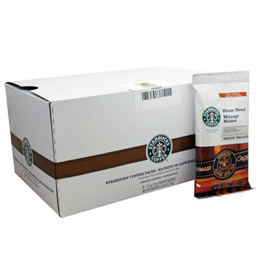 Starbucks Coffee House Blend 2.5 oz. Portion Packs - 18 ct.