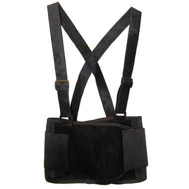 SAS Deluxe Back Support Belt - Black - Large - 1 ct.