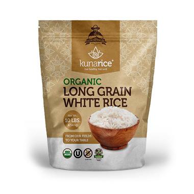 Kunarice Organic Long Grain White Rice (10 lb.) - Sam's Club
