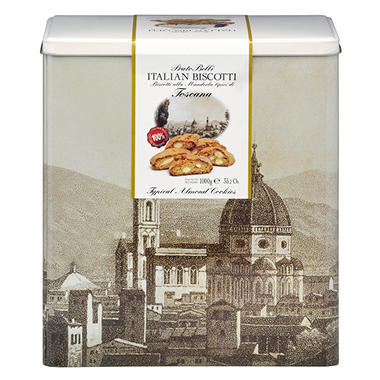Italian Biscotti Cookie Tin