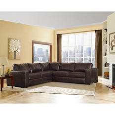 Sidney Leather Sectional