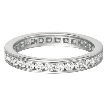 Channel-Set Diamond Eternity Band - 3.5mm (I, I1)