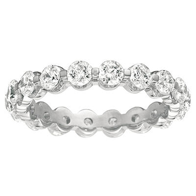 Prong-Set Diamond Eternity Band - 3.5mm (I, I1)
