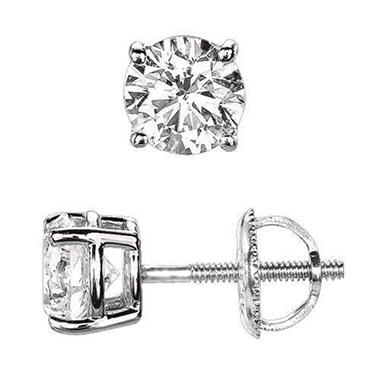 .23 ct. t.w. Round-Cut Diamond Earrings (I, SI2)