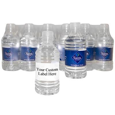 Custom Labeled Natural Spring Water Pallet - 12 oz. bottles - Choose 1, 5, 10, or 20 Pallets