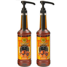 Hazelnut Coffee Syrup - 750 ml Bottle with Pump Included - 2 Pack
