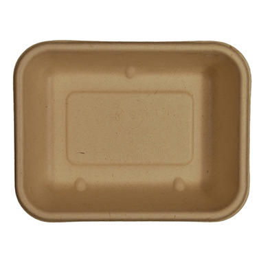 World Centric Compostable/Biodegradable Fiber Tray (600 ct.)