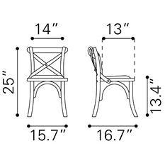 Baby Larkin Chair 2pk - Green