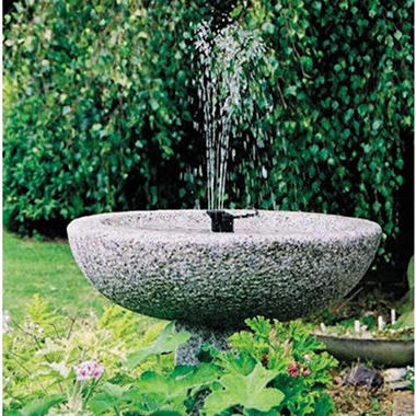 Sunjet 150 Solar Fountain Kit w/ 3 Different Heads