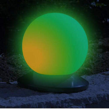 Chameleon Solar Powered Smart Globe Light - 6.25""