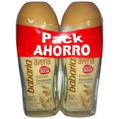 Barbaria Oat Deodorant - 2.75 fl. oz. - 2 pk.