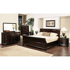 Charleston King Bed Set - 6 pc.