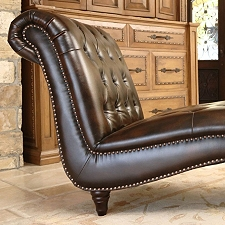 Emily leather chaise sam 39 s club for Bellagio 100 leather chaise