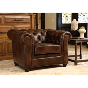 Natali Italian Leather Armchair