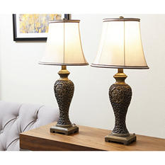 Milan Table Lamps, Set of 2