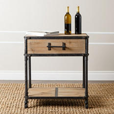 Atwood Industrial End Table