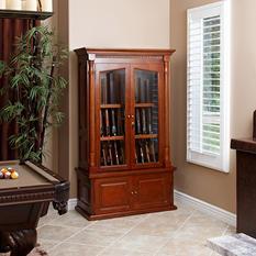 Jackson 12-Gun Wood Display Cabinet