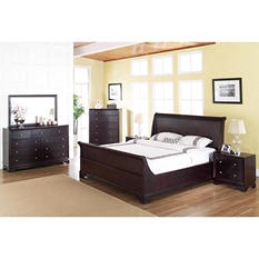 Charleston Sleigh Bedroom Set (Assorted Sizes)