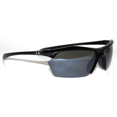 Under Armour Zone XL Polarized Sunglasses, Black