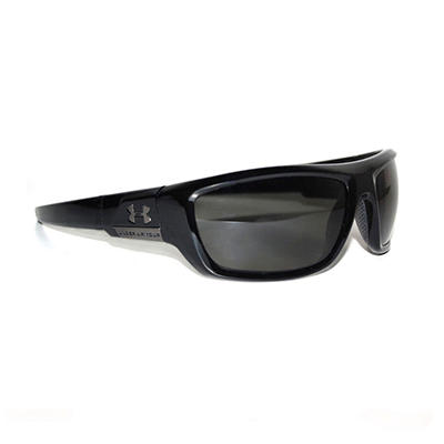 Under Armour Prevail Polarized Sunglasses, Black