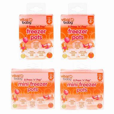 Vital Baby Freezer Pot Kit - 24 pc.