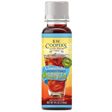 B.W. Coopers Un-Sweetened - Mini Bottle - 1 Bottle Makes 1 Gallon - 8 Count