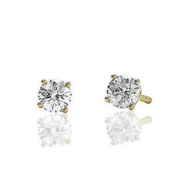1 ct. t.w. Round Diamond Earrings (G-H, SI1-SI2)