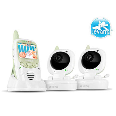 Safe N' See Digital Video Baby Monitor with 2 Cameras