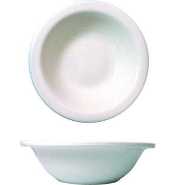 "4 3/4"" Dover Fruit Bowl - European White - 36 pk."