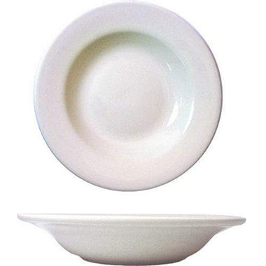 "9"" Dover Soup Bowl - Porcelain White - 36 pk."