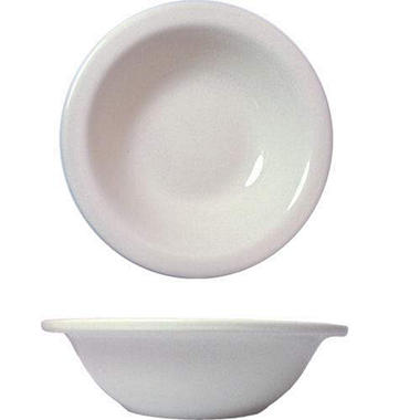 "6 3/8"" Dover Grapefruit Bowl-Porcelain White-36 pk"