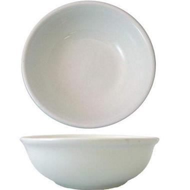"4 7/8"" Dover Fruit Bowl - Porcelain White - 36 pk."