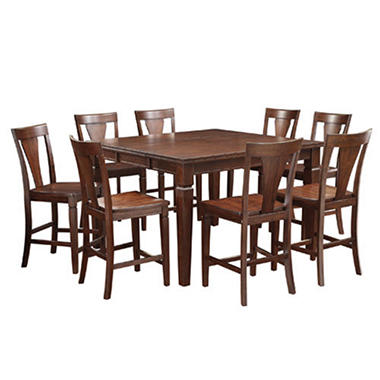 berkley counter height dining set 9 pc sam 39 s club