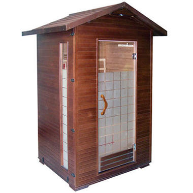 Ironman� InfraPro 2 Person Outdoor Sauna