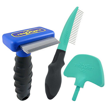 FurGOpet™ Deshedder and Multi-Groom for Small Dogs