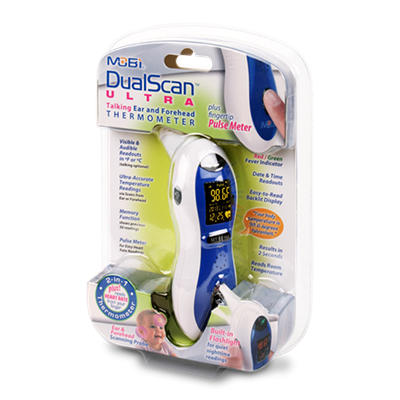 DualScan Ultra Digital Thermometer
