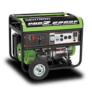 Gentron 5,000W / 6,000W Propane Powered Generator w/ Electric Start