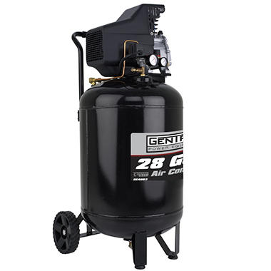 Gentron Vertical Air Compressor - 28 Gallons