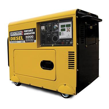 Gentron 6500 Watt Silent Diesel Generator