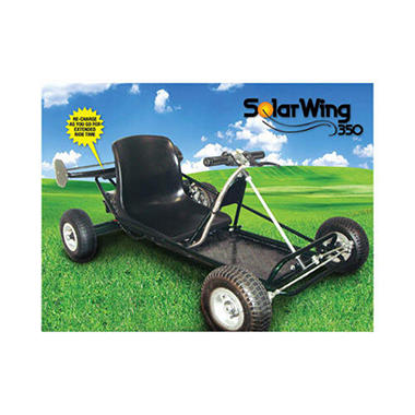 SolarWing Solar Powered Electric Go Kart
