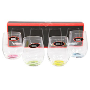 "Riedel Happy ""O"" Wine Tumblers, 4-Piece"