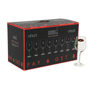 Riedel Vinum Chablis/Chardonnay Wine Glasses, Set of 8