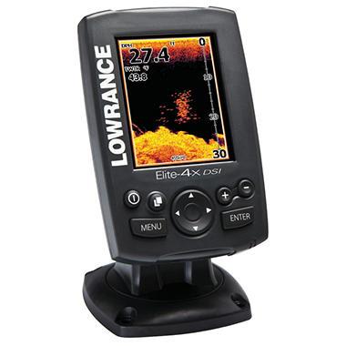Lowrance Elite-4x Dsi Color Downscan Imaging Fishfinder