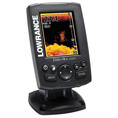Lowrance Elite-4x Dsi Color Downscan Imaging Fishfinder