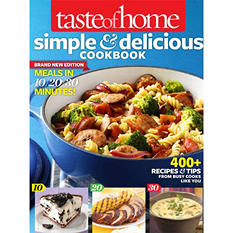 Taste of Home Simple and Delicious Cookbook