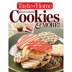 Taste of Home, Cookies and more Cookbook
